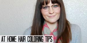 At Home Hair Coloring Tips