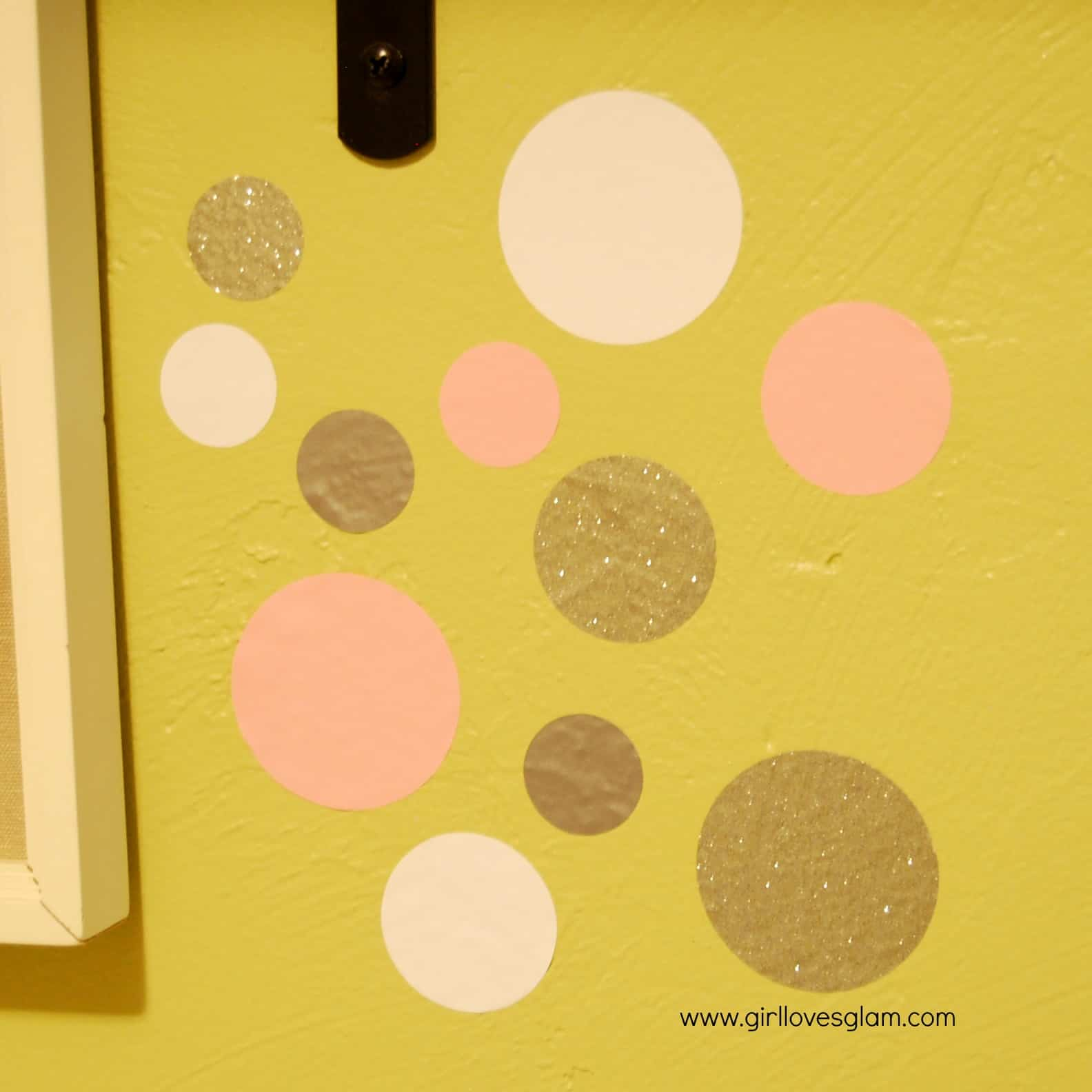 Confetti Polka Dot Vinyl Wall Accents - Girl Loves Glam