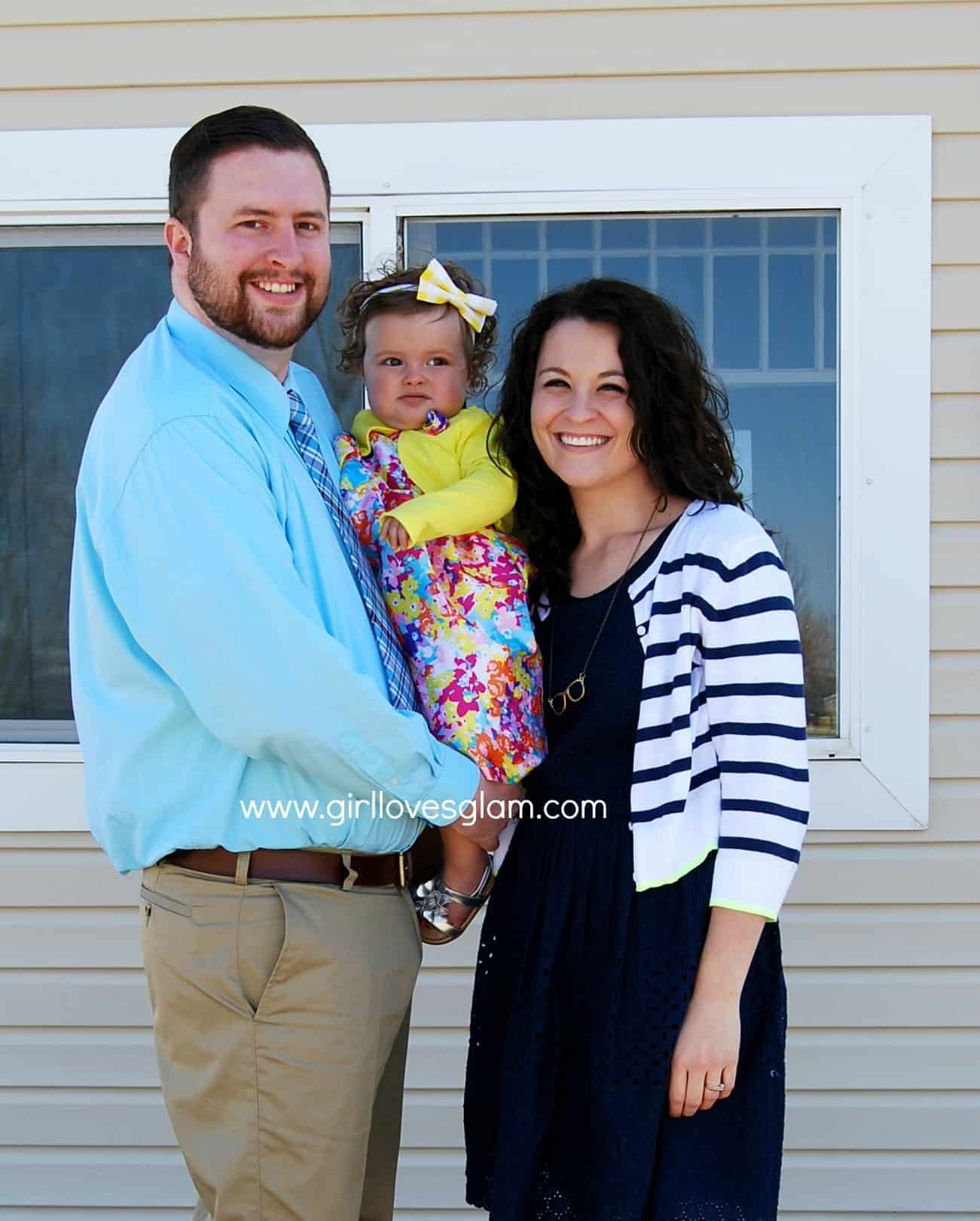 What We Wore: Easter Edition via www.girllovesglam.com #fashion #family #easter