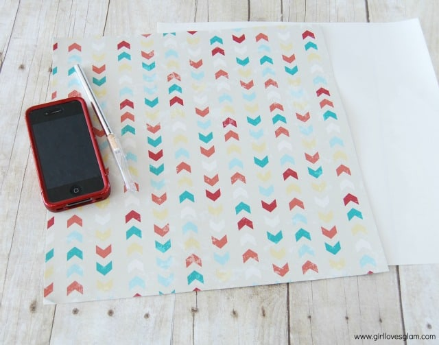 how to make a DIY pattern phone case