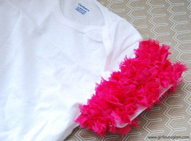DIY Ruffle Sleeve Shirt