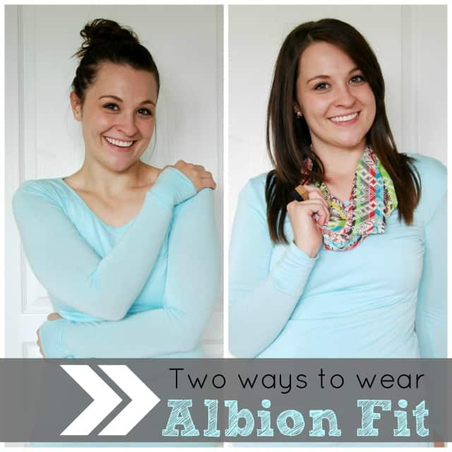 How to wear Abion Fit two ways