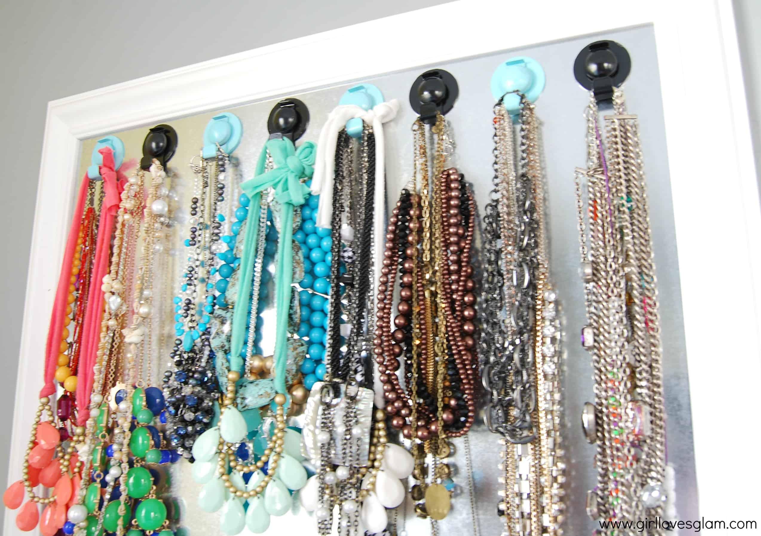 Deco Board Jewelry Hanger Organizer - Girl Loves Glam