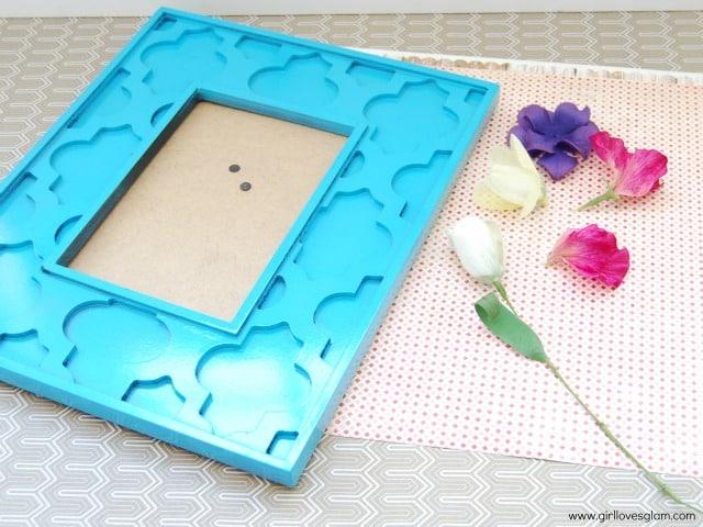 pressed flower art supplies