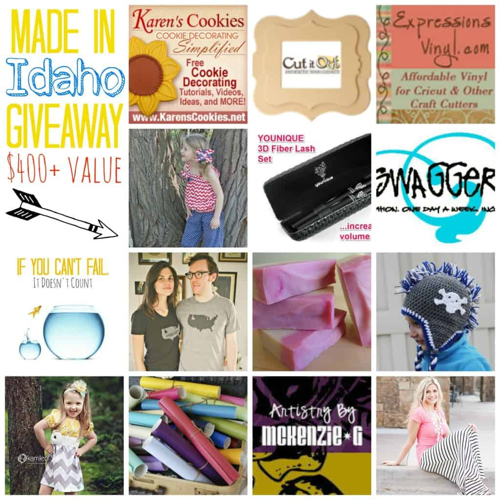made in idaho giveaway
