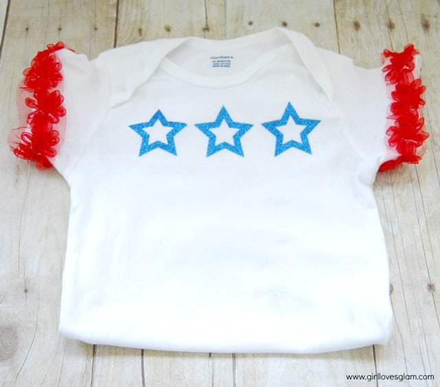 4th of July DIY Onesie