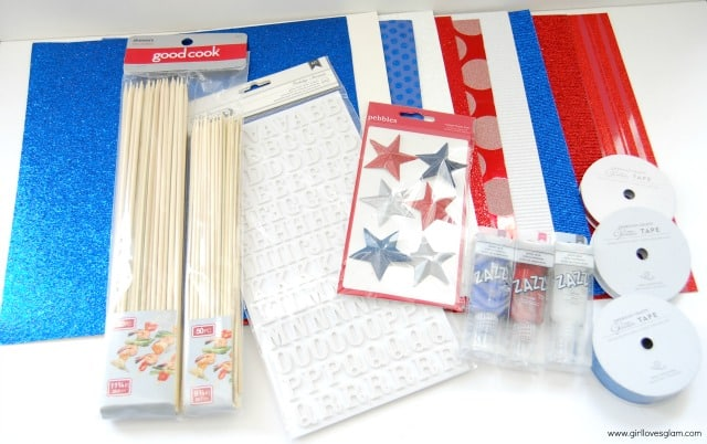 American Crafts Glitter products