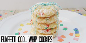 Funfetti Cool Whip Cookies