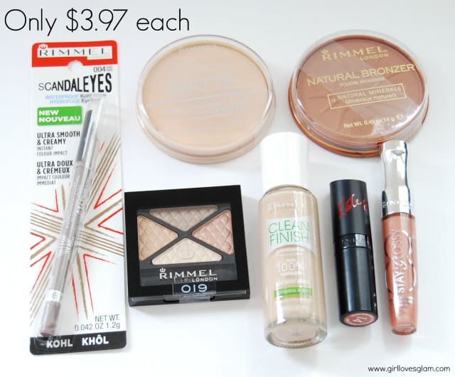 Affordable makeup from Rimmel at Walmart