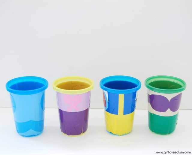 DIY Disney Princess Cups on www.girllovesglam.com #craft #tutorial #disney