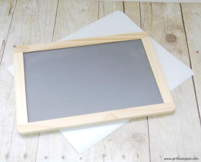 Chalkboard Vinyl Teacher Gift