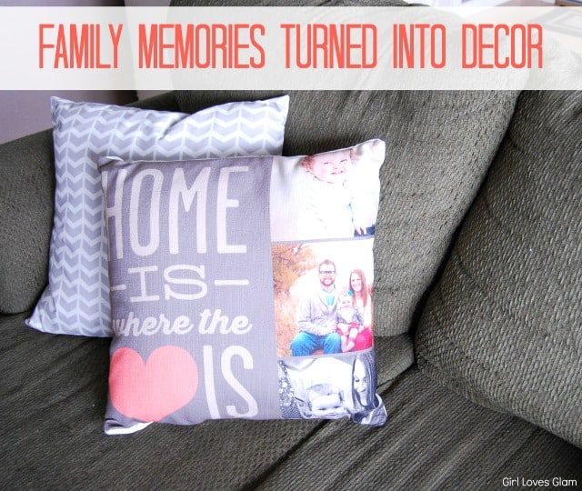 Family Memories Turned into Decor