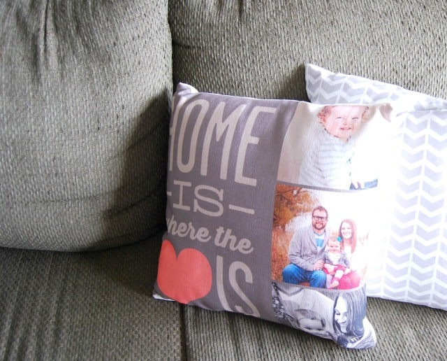 Family Shutterfly Pillow