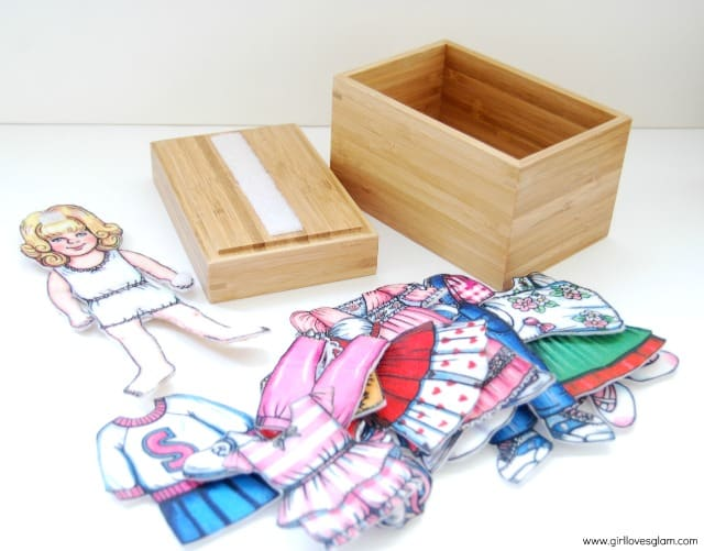 Ikea Dress Up Doll Quiet Game How To