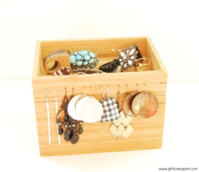 Ikea Wooden Jewelry Box Tutorial