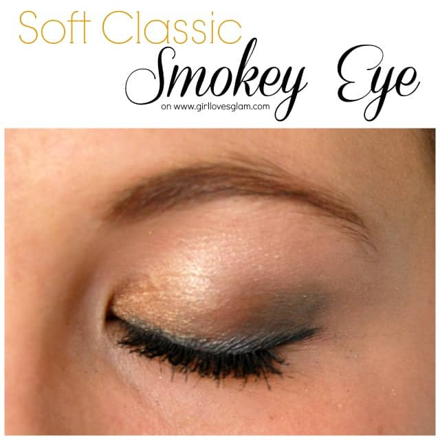 Soft Classic Smokey Eye Makeup Tutorial on www.girllovesglam.com #makeup #tutorial #eyeshadow