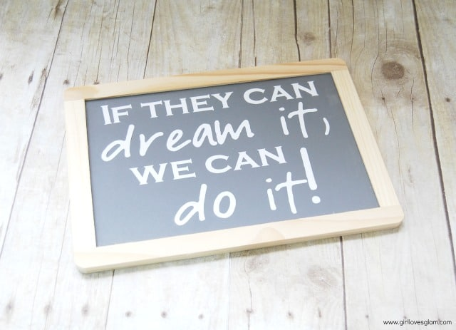 Teacher Chalkboard Easy Gift