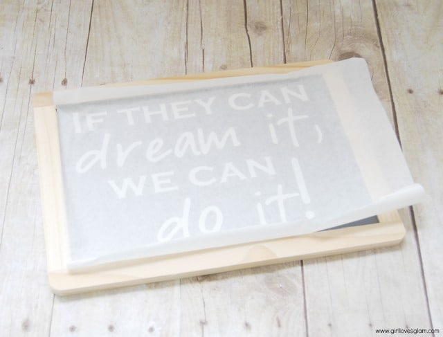 Teacher Gift Chalkboard Quote