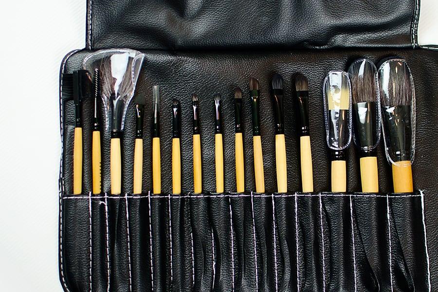 15 piece makeup brush set