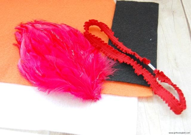 Elmo Headband Supplies