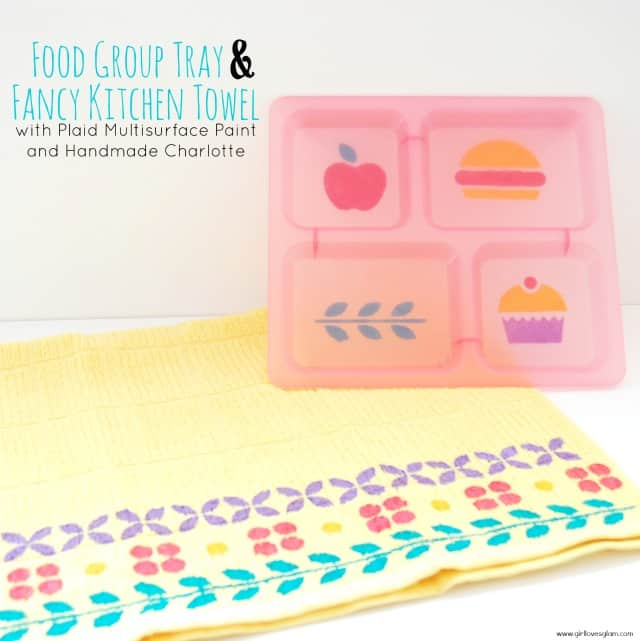 Food Group and Fancy Kitchen Towel