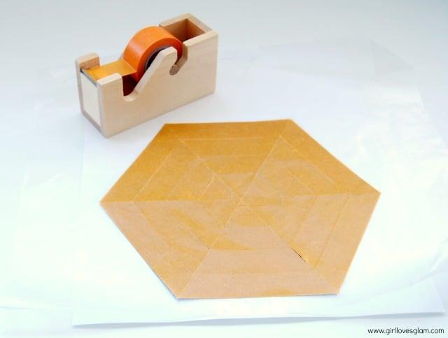 Washi Tape Hexagon