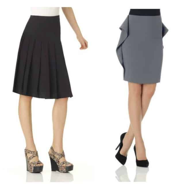 Spiegel Cold Weather Skirts