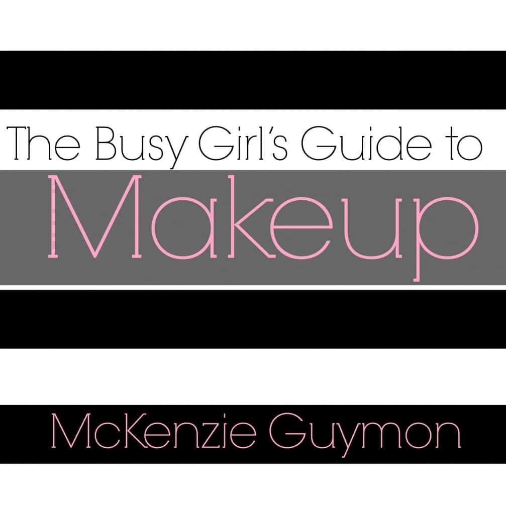 The Busy Girl's Guide to Makeup Front Cover Art copy