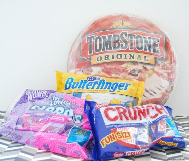 Tombstone Pizza and Halloween Candy #shop