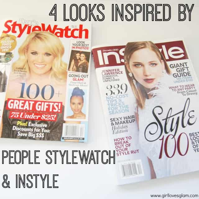 4 Looks Inspired By People StyleWatch and InStyle Magazines