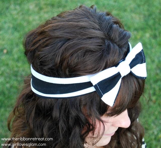 Big Bow Head Wrap