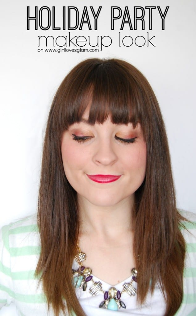 Holiday Party Makeup Look on www.girllovesglam.com #makeup #beauty #tutorial
