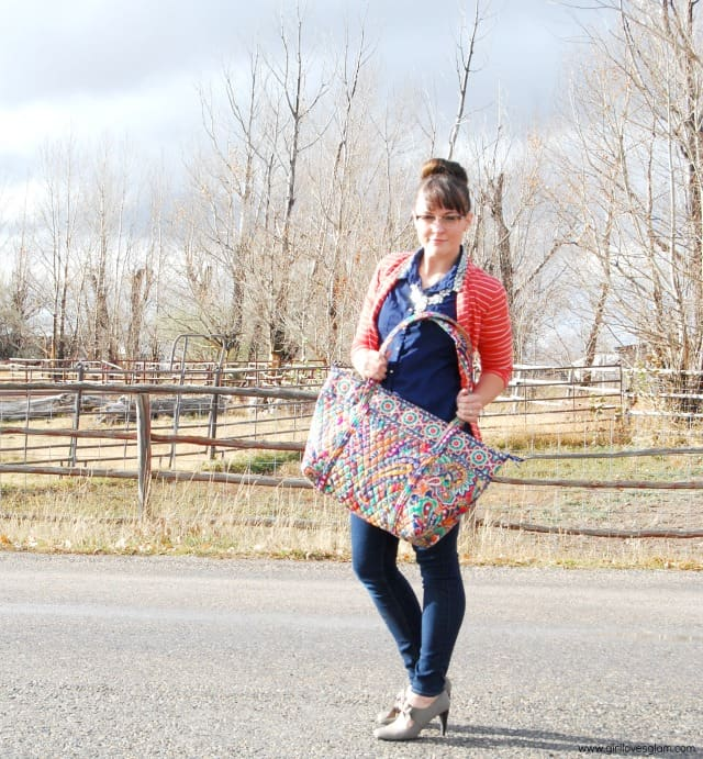 733cc07a72 What I Wore  Vera Bradley Winter Collection  vbwishlist - Girl Loves Glam