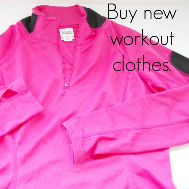 Buy new workout clothes #shop