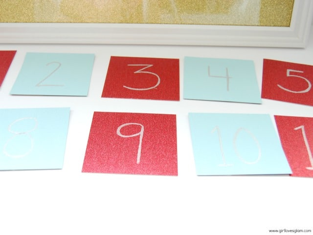 Christmas Advent Calendar Craft