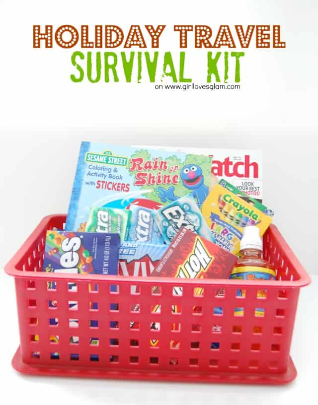 Holiday Travel Survival Kit #shop