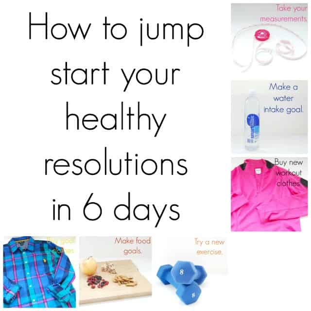 How to jump start your healthy resolutions in 6 days #shop