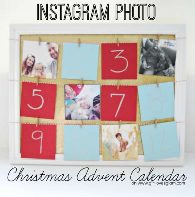 Instagram Photo Christmas Advent Calendar