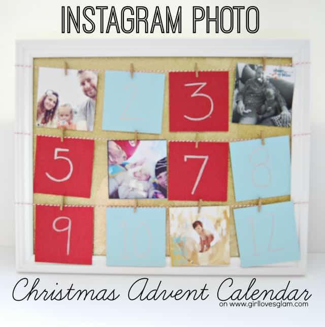 Instagram Photo Christmas Advent Calendar