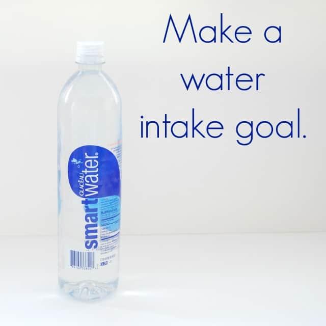 Make a water intake goal #shop