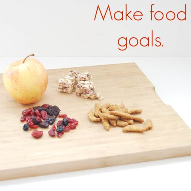 Make food goals #shop