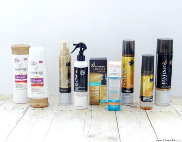 Pantene Heat Protecting Products