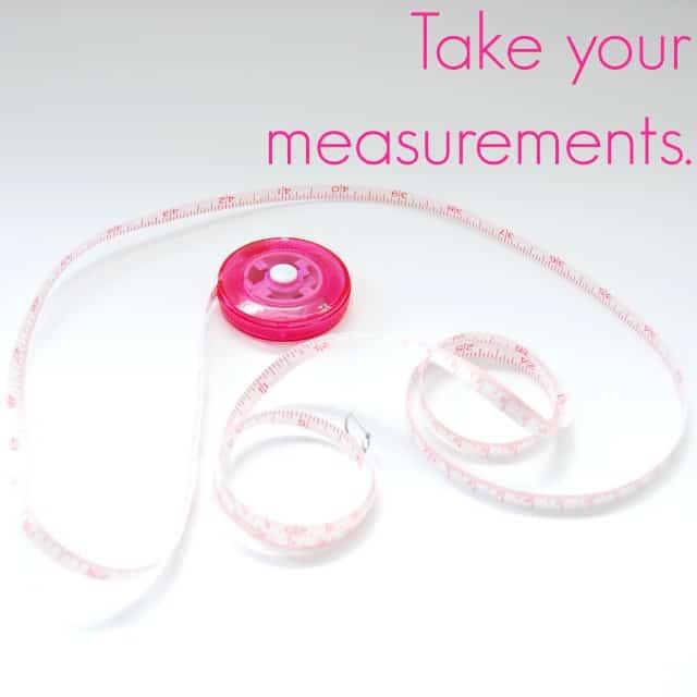 Take your measurements #shop