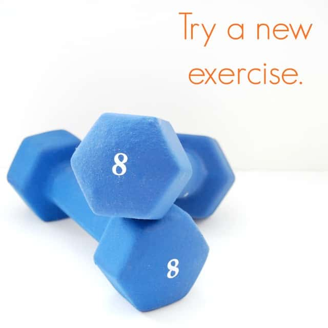 Try a new exercise #shop