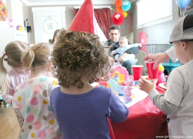 Elmo Birthday Party Details