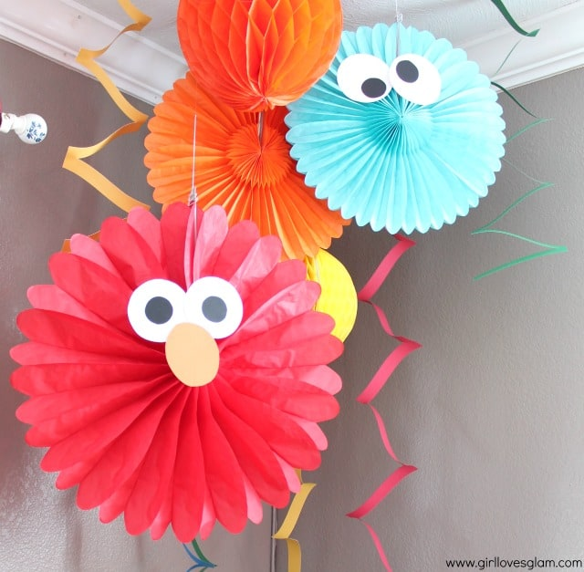 Sesame Street Elmo Birthday Party