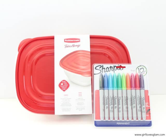 Rubbermaid Take Alongs and Sharpie Markers