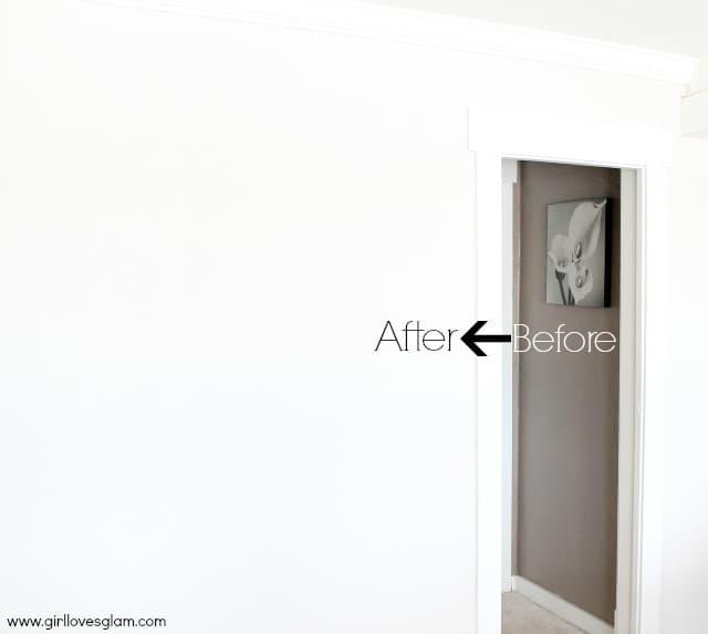 Living Room Makeover: Paint - Girl Loves Glam