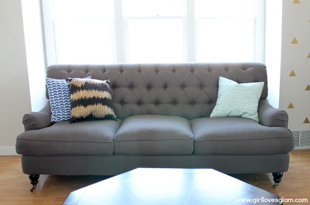 DownEast Gray Sofa