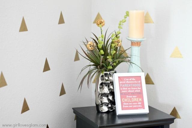 Modern bright home decor
